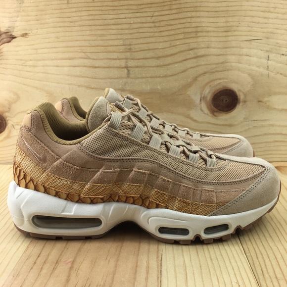 c5b79cdb0881 Nike Air Max 95 Premium SE Size 8.5 Vachetta Tan